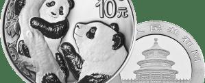 2021 30g silver panda coin