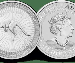 Buy Australian Kangaroo 1oz Silver Coin