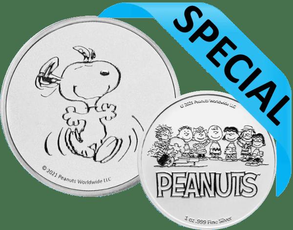 buy 1oz silver peanuts round
