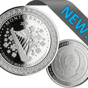 buy 2019 emerald isle of the caribbean 1oz silver coin