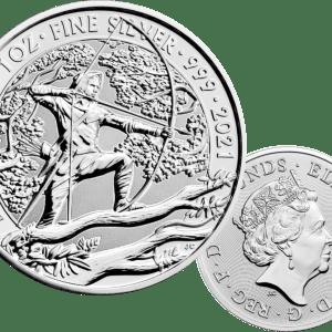 Buy 2021 Robin Hood 1oz silver coin