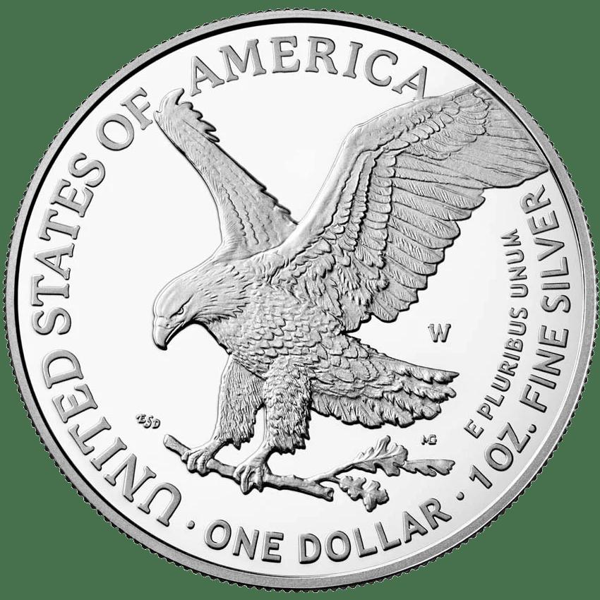 2021 design of the american silver eagle