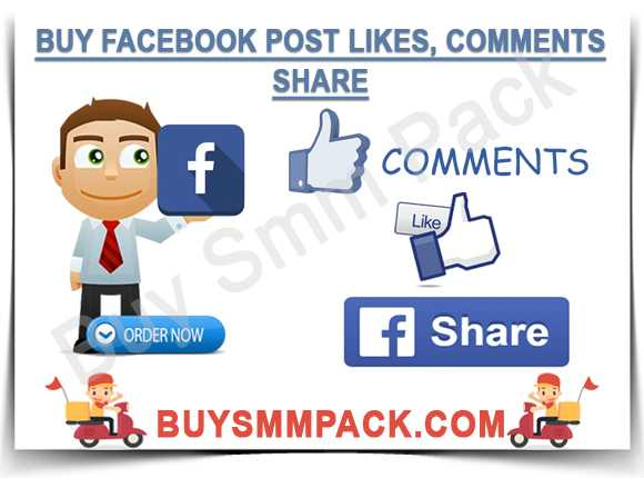 Buy Facebook Post Likes, Comments, Share