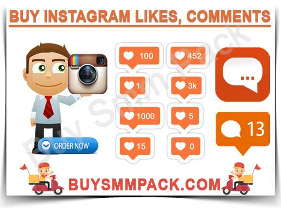Buy Instagram Likes, Comments