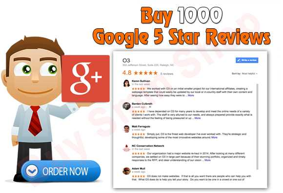 Buy Google Five Star Reviews