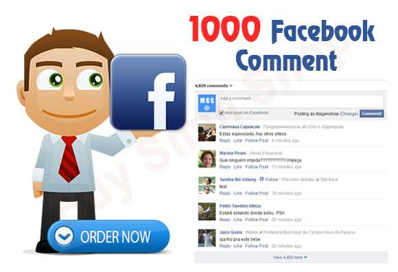 Buy Facebook Comment