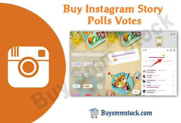 Buy Instagram Story Polls Votes
