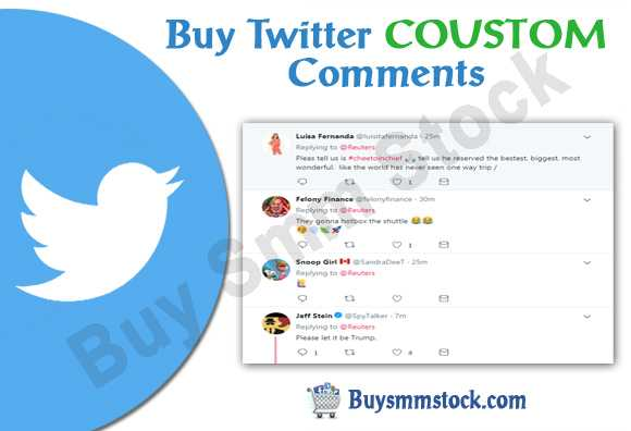 Buy Twitter COUSTOM Comments