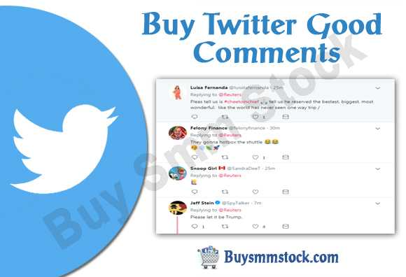 Buy Twitter Good Comments