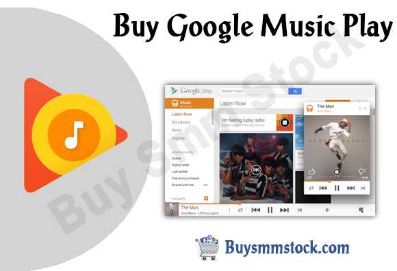 Buy Google Music Plays