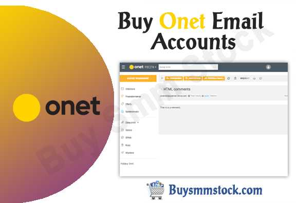 Onet Email Accounts