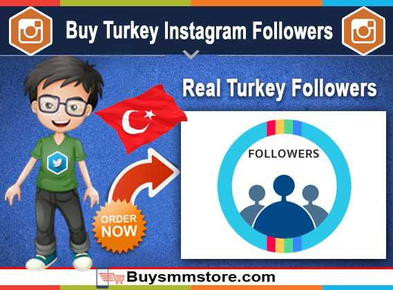 Buy Turkey Instagram Followers