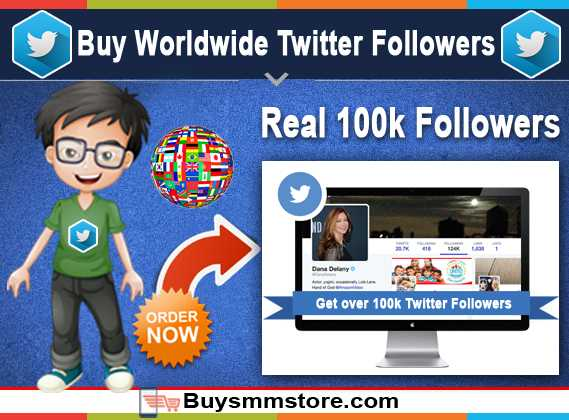 Buy Worldwide Twitter Followers