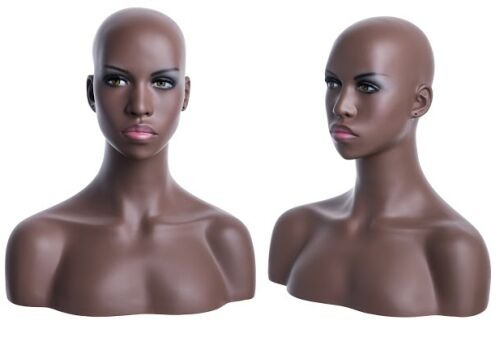mannequin head display head