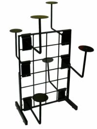 Display Hat Rack, Millinery Display Rack, Hats Store Display