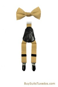 Boys Premium Suspenders and Bow Tie Set Suspenders Y ...