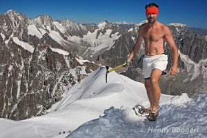 Wim Hof Climbing Mt. Everest