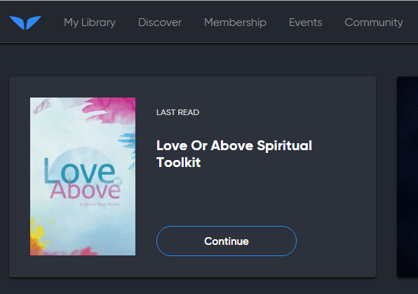 Love Above Course