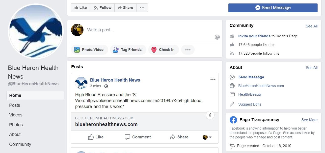 Blue Heron Health News Vertigo Treatment Exercise