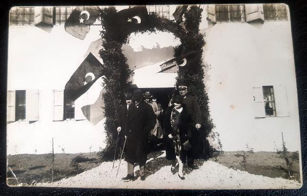 Atatürk'ün ilk kez görülen fotoğrafı