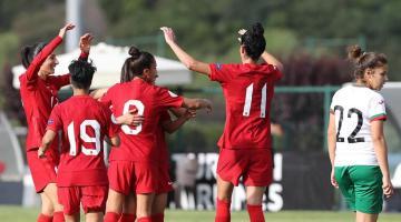 Milliler, özel maçta Bulgaristan'ı 3 golle yendi