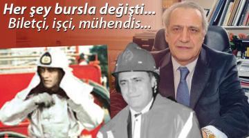 En meşhur itfaiyeci Prof. Dr. Abdurrahman Kılıç'a veda