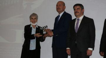 Bakan Soylu 'Akif' filminin galasına katıldı