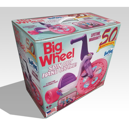 Big Wheel® Girls 50th Anniversary 16″ – Spin Out Edition