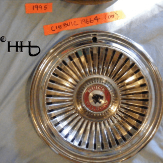 Front view of hubcap # c15buic1966_4