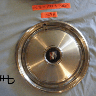 front view ofhubcap # c15buic1974_3