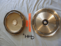 back and front of hubcap # c15buic1974_4