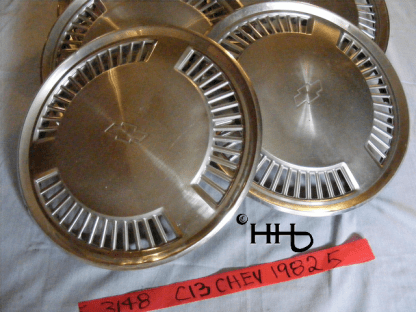 view of a couple hubcaps # c13chev1982_5