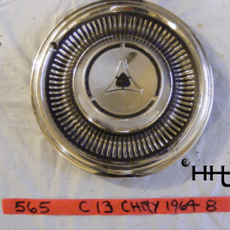 front view of hubcap # c13chry1964_8