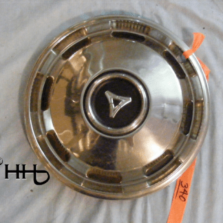 front view of hubcap # c13dodg1969_3