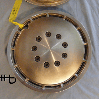front view of hubcap # c13dodg1985_1