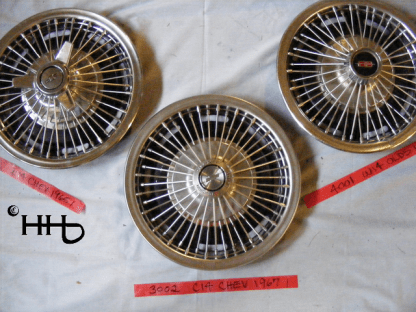 comparison of different designs including hubcap # w14chev1965_1