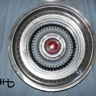 front view of hubcap # c14ford1975_5