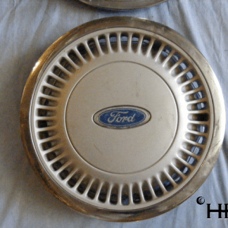front view of hubcap # c14ford1986_6