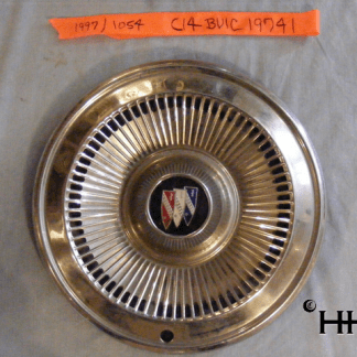 Front view of hubcap # c14buic1974_1