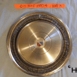 front view of hubcap # c15buic1977_4
