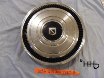front view of hubcap # c15buic1980_3
