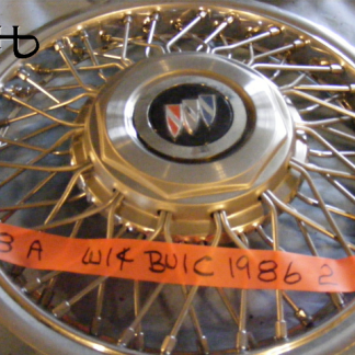 front view of hubcap # w14buic1986_2