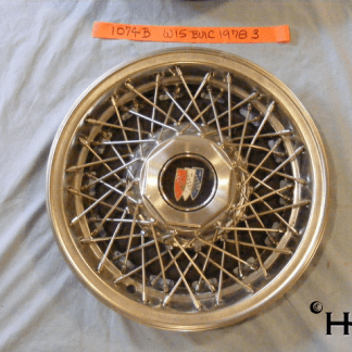 front view of hubcap # w15buic1978_3