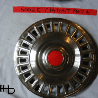 front view of hubcap # c14pont1967_4