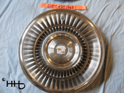front view of hubcap # c15cady1963_1
