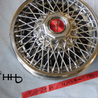 front view of hubcap # w13pont1980_8