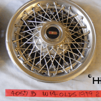 front view of hubcap # w14olds1979_2