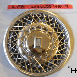 front view of hubcap # w15olds1981_3