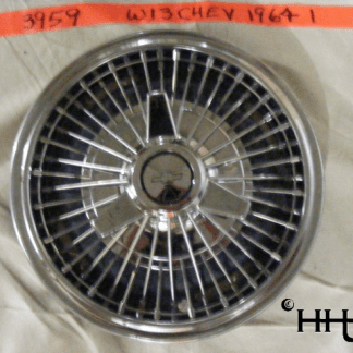 front view of hubcap # w13chev1964_1