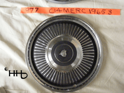 Another front view of hubcap # c14merc1965_3
